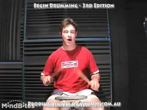 How to Play the Drums: Reading Triplets
