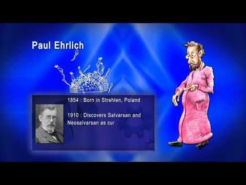 Top 100 Greatest Scientist in History For Kids(Preschool) - PAUL EHRLICH