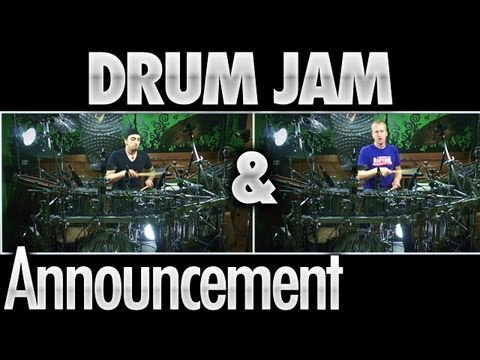 Aaron Joins Drumeo (Drum Jam Included)