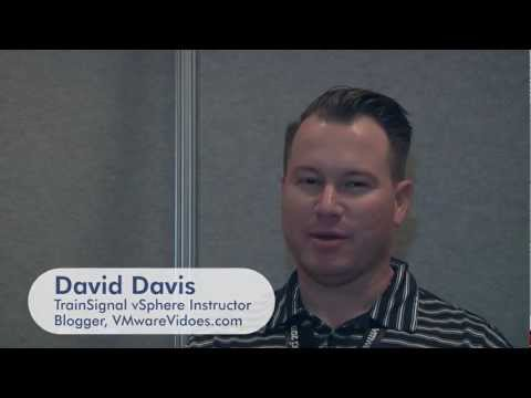 TrainSignal's David Davis Talks VMworld 2011 and vSphere 5