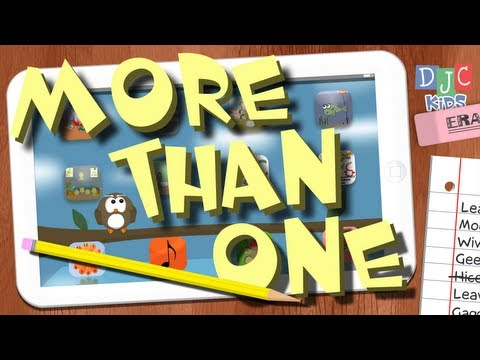 More than One - Fun Plurals Song for Kids