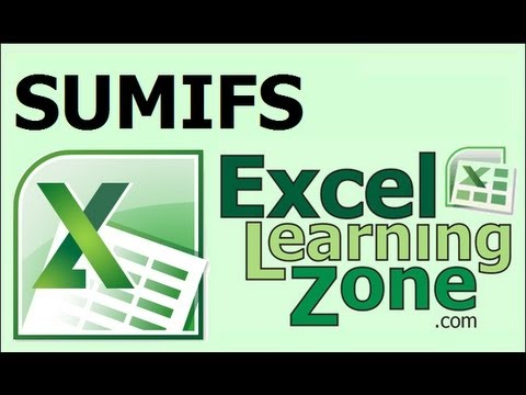 Microsoft Excel SUMIFS function - add up cells that fall between two values