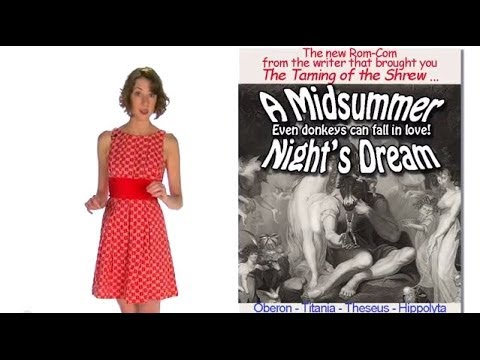 "A Midsummer Night's Dream CHARACTERS -- Shakespeare's ""A Midsummer ..."" ... from 60second Recap®"