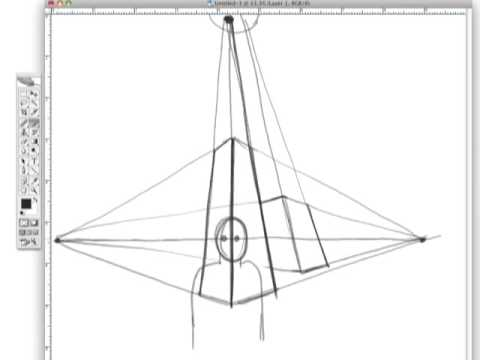 Drawing Tutorials Online Three Point Perspective