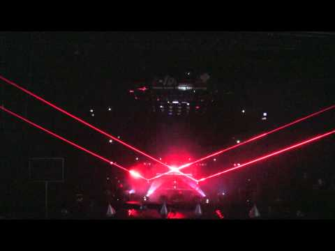 LASERWORLD Laser Show Frankfurt Musikmesse 2012 in HD