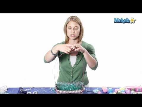 Easter Crafts - Easter Egg Basket