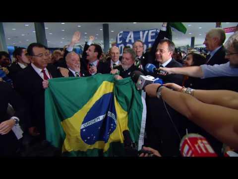 Rio de Janeiro 2016 - The Brazil Delegation Celebrates