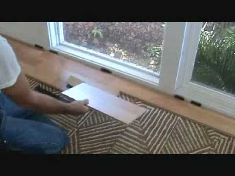 How to install a hardwood laminate floor: special tools required