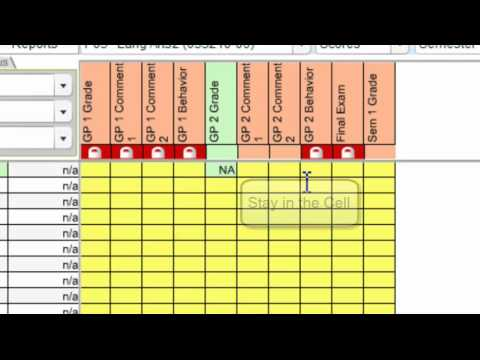 How to copy a score down a column in RDS