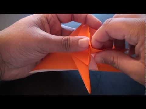 Origami Daily - 076: Crane (Tsuru) Bookmark Ver. 1 - TCGames [HD]