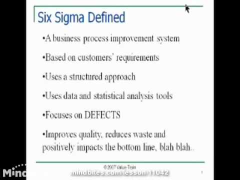 Lean and Six Sigma in Today's Workplace
