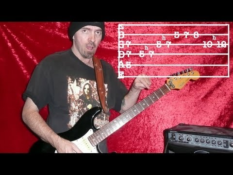 MASTER OF PUPPETS by METALLICA  Guitar Lesson Now Has Tabs!