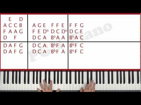 ♫ EASY - How To Play Feel Robbie Williams Piano Tutorial Lesson - PGN Piano