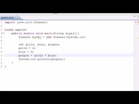 Java Programming Tutorial - 8 - Math Operators