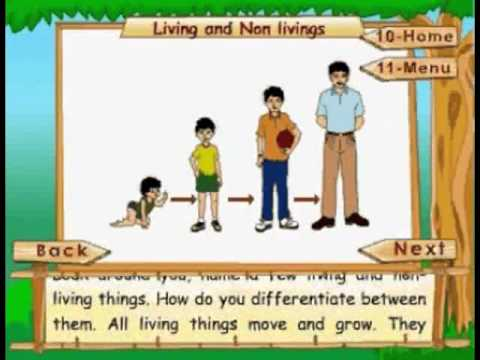 Living and Nonliving - Kids Animation Learn Series