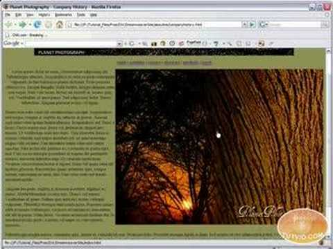 Dreamweaver Tutorial - Creating Hyperlinks, Email links!