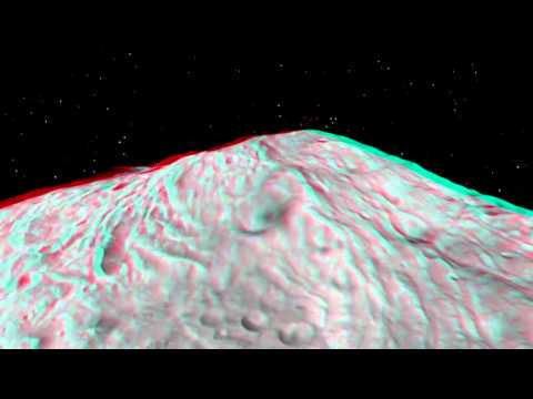 Soar Over Asteroid Vesta in 3-D