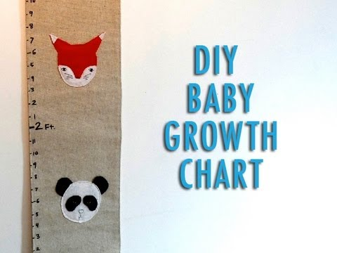 DIY Baby Growth Chart
