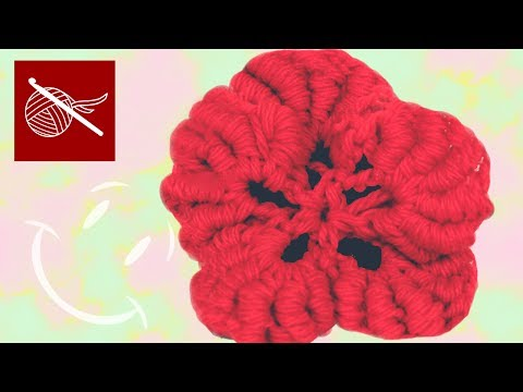 Art of Crochet by Teresa - Crochet Bullion Flower