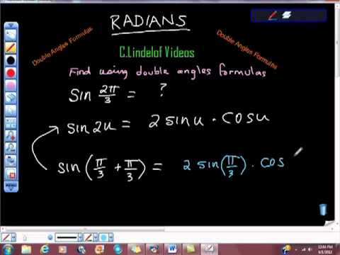 Double Angles Formulas Sine of 2pi 3