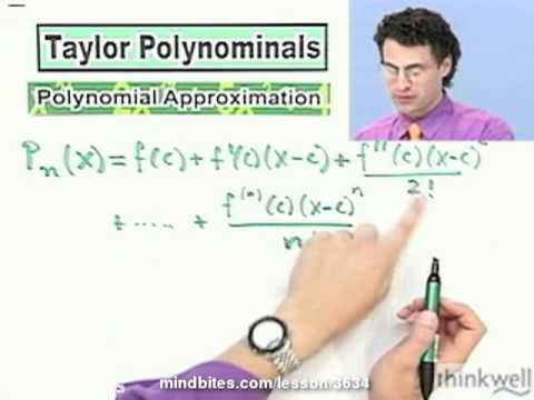 Calculus: The Remainder of a Taylor Polynomial