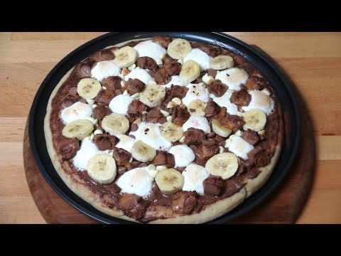 Chocolate Dessert  Pizza - RECIPE