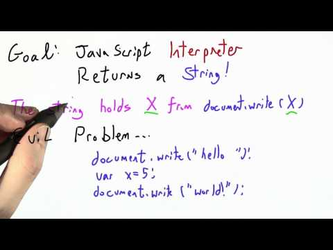 Evil Problem - CS262 Unit 6 - Udacity