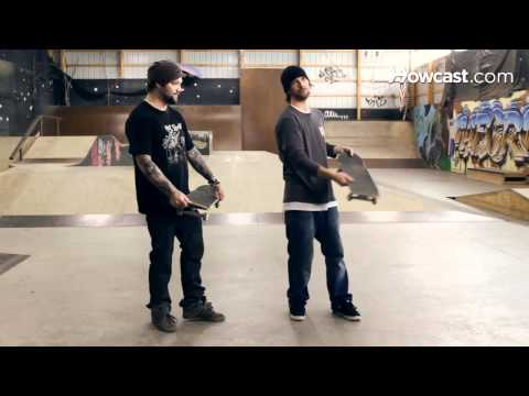 How to Skateboard with Bam Margera: Advanced Tricks / Frontside Flip