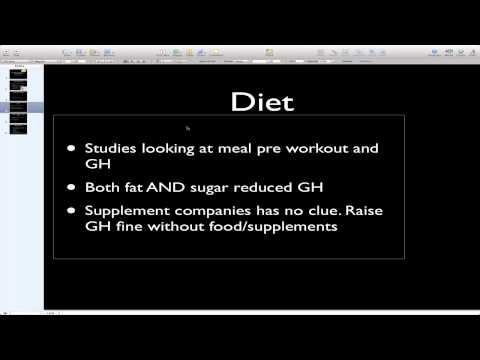 Growth Hormone Diet-Increase Growth Hormone Naturally