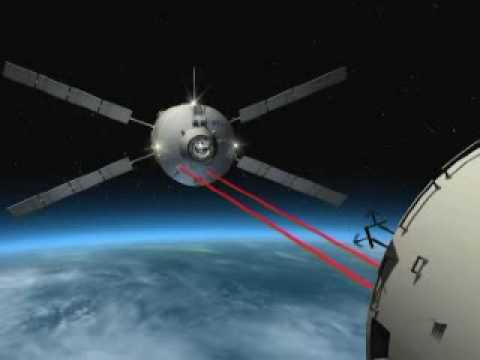 ATV orbital rehearsals for ISS docking