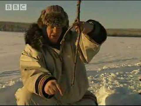 Fishing on Ice - Ray Mears Extreme Survival - BBC
