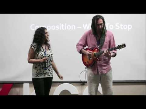 TEDxKCG - Ed DeGenaro & Ujjayinee Roy - When Life Imitates Art