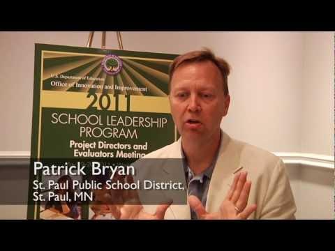 Patrick Bryan (St. Paul Public School District) talks about School Leadership