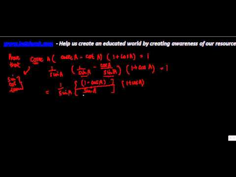 647.$ CBSE  Maths Class X, ICSE Maths Class 10-  Trigonometry Identity - Complex problem