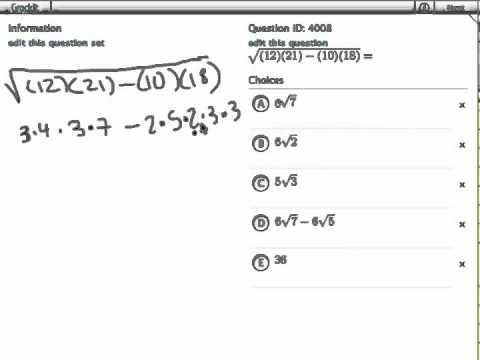 Grockit GMAT Quantitative - Problem Solving: Question 4008