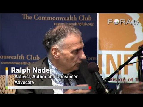 Ralph Nader on the Bailout and the Economic Crisis