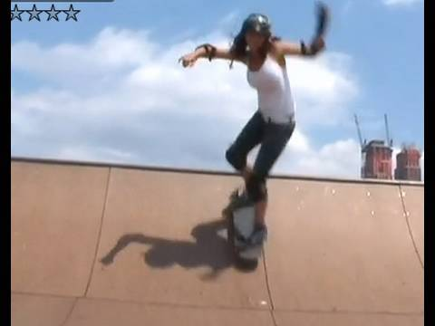 How to Drop Into a Half-pipe on a Skateboard
