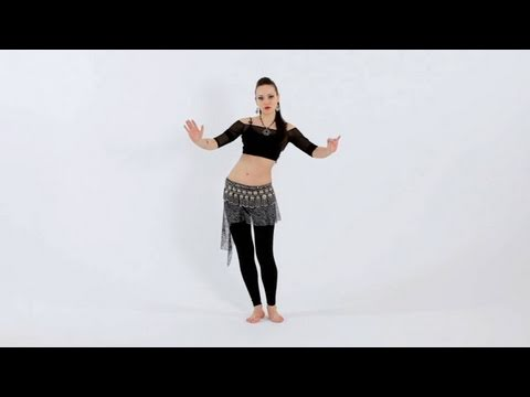 Belly Dance Moves: Reverse Horizontal Figure 8s