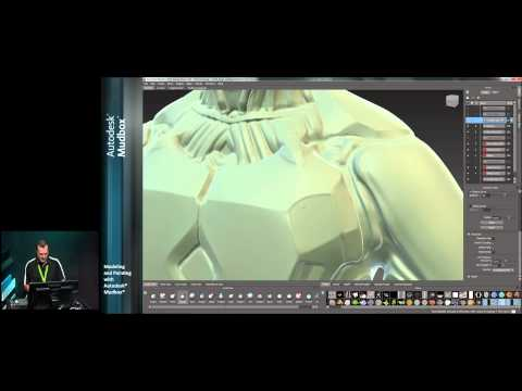 Modeling and Painting with Autodesk® Mudbox® - Part 1