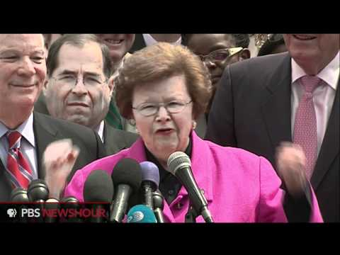 Sen. Barbara Mikulski Reacts to Supreme Court Decision Upholding Affordable Care Act