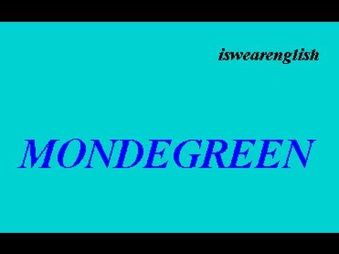 Mondegreen - An Explanation - ESL British English Pronunciation