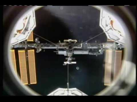 After Completing Backflip STS-130 Crew Joins Expedition 22 Crew on ISS