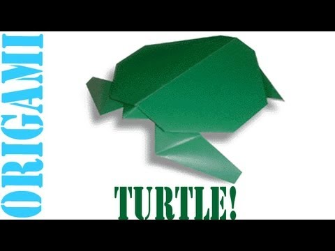 Origami Daily - 370: Turtle - TCGames [HD]