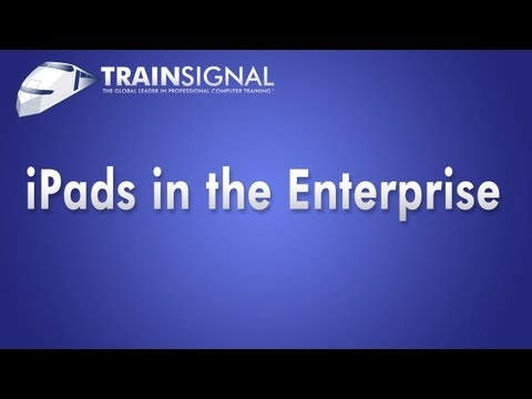 Exchange Server iPads Webinar: Enterprise Configuration