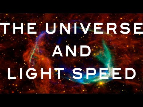 The Universe & Light Speed - YouTube Space Lab with Liam & Brad
