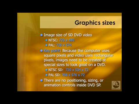 DVD Studio Pro: Preparing graphic assets | lynda.com