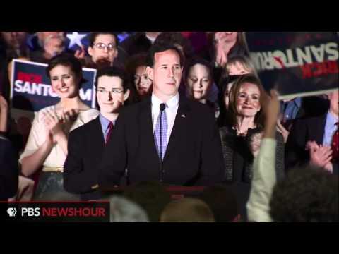 Watch Rick Santorum's Speech After Wisconsin, Maryland, and Washington, D.C. Primaries