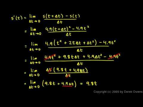 Calculus 3.03d - Derivative Example 3