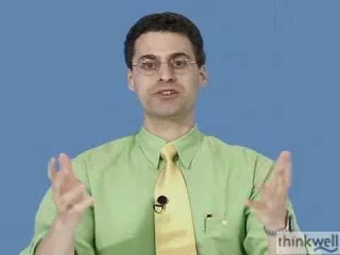 How To Do Math, from Thinkwell's Calculus Video Course