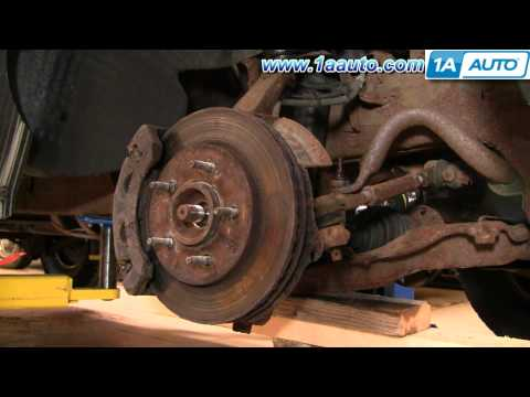 How To Install Replace Front Stabilizer Bar Link Ford F150 Expedition 1AAuto.com